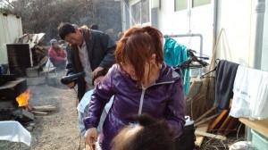 東日本大震災カット
