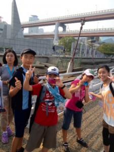 2013年「夢と希望と絆の架け橋」プロジェクト」メリケン波止場7