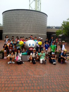 2013年「夢と希望と絆の架け橋」プロジェクト」大阪ガス科学館1
