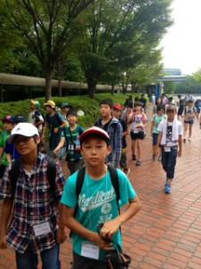 2013年「夢と希望と絆の架け橋」プロジェクト」大阪ガス科学館3
