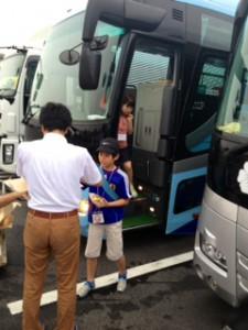 2013年「夢と希望と絆の架け橋」プロジェクト」琵琶湖7月31日2