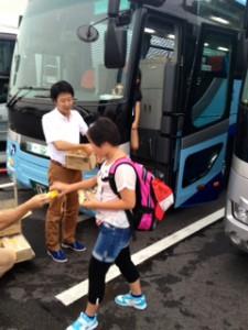 2013年「夢と希望と絆の架け橋」プロジェクト」琵琶湖7月31日7