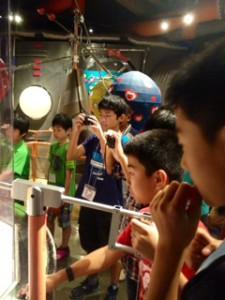 2013年「夢と希望と絆の架け橋」プロジェクト」遊び2