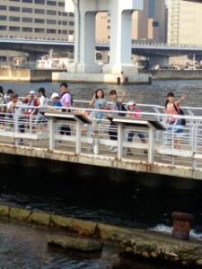 2013年「夢と希望と絆の架け橋」プロジェクト」メリケン波止場10