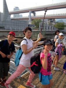 2013年「夢と希望と絆の架け橋」プロジェクト」メリケン波止場1