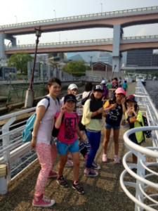 2013年「夢と希望と絆の架け橋」プロジェクト」メリケン波止場2