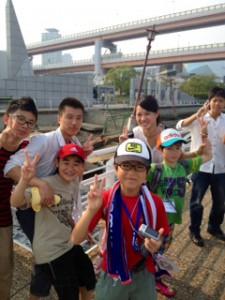 2013年「夢と希望と絆の架け橋」プロジェクト」メリケン波止場3