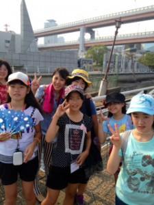 2013年「夢と希望と絆の架け橋」プロジェクト」メリケン波止場4