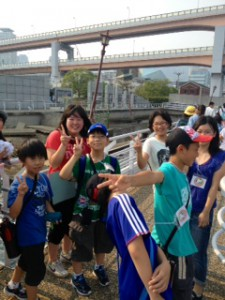 2013年「夢と希望と絆の架け橋」プロジェクト」メリケン波止場5