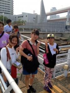 2013年「夢と希望と絆の架け橋」プロジェクト」メリケン波止場9