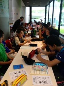 2013年「夢と希望と絆の架け橋」プロジェクト」大阪ガス科学館10
