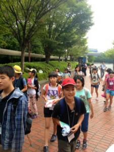 2013年「夢と希望と絆の架け橋」プロジェクト」大阪ガス科学館4