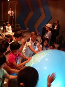 2013年「夢と希望と絆の架け橋」プロジェクト」学び7