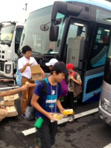 2013年「夢と希望と絆の架け橋」プロジェクト」琵琶湖7月31日10