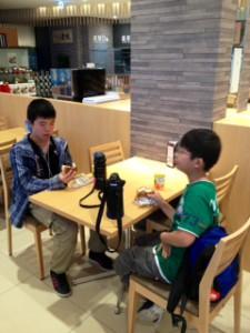 2013年「夢と希望と絆の架け橋」プロジェクト」琵琶湖7月31日12