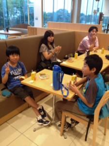 2013年「夢と希望と絆の架け橋」プロジェクト」琵琶湖7月31日14