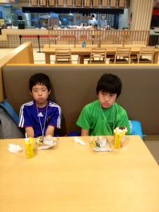2013年「夢と希望と絆の架け橋」プロジェクト」琵琶湖7月31日15
