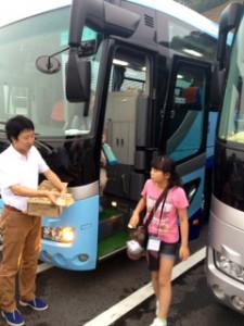 2013年「夢と希望と絆の架け橋」プロジェクト」琵琶湖7月31日6