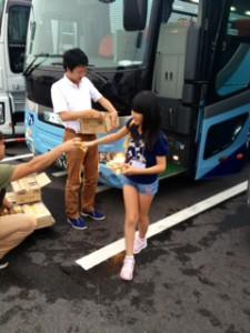 2013年「夢と希望と絆の架け橋」プロジェクト」琵琶湖7月31日8