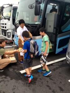 2013年「夢と希望と絆の架け橋」プロジェクト」琵琶湖7月31日9