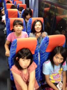 2013年「夢と希望と絆の架け橋」プロジェクト」車中泊2