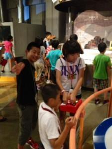 2013年「夢と希望と絆の架け橋」プロジェクト」遊び4