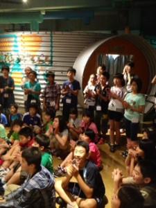 2013年「夢と希望と絆の架け橋」プロジェクト」遊び7