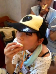 2013年「夢と希望と絆の架け橋」プロジェクト」中華街にて夕食15