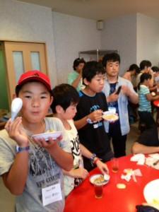 2013年「夢と希望と絆の架け橋」プロジェクト」中華街にて夕食8